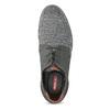 Pánské ležérní šedé Derby polobotky bata-red-label, šedá, 821-2608 - 17