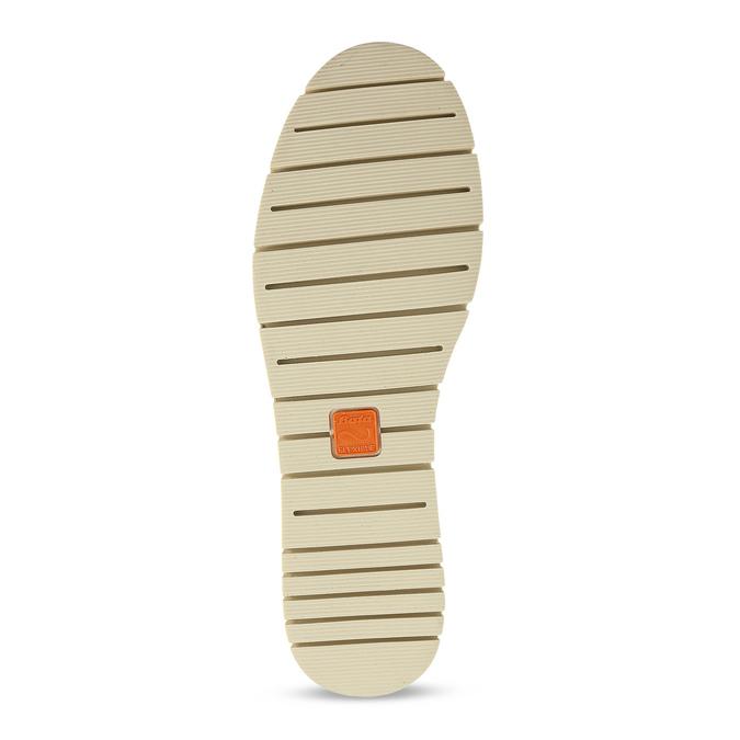 Kožená dámská Slip-on obuv s perforací flexible, šedá, 513-9609 - 18