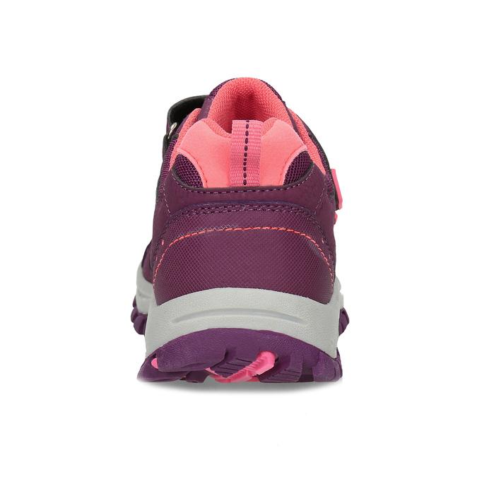 Fialové dětské tenisky na suché zipy mini-b, fialová, 321-5616 - 15