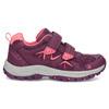 Fialové dětské tenisky na suché zipy mini-b, fialová, 321-5616 - 19