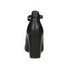Černé dámské lodičky na stabilním podpatku bata-red-label, černá, 729-6635 - 15