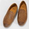 Kožené hnědé pánské Loafers bata, hnědá, 836-3627 - 16