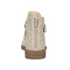 Dívčí kotníčková obuv béžová mini-b, zlatá, 321-8248 - 15