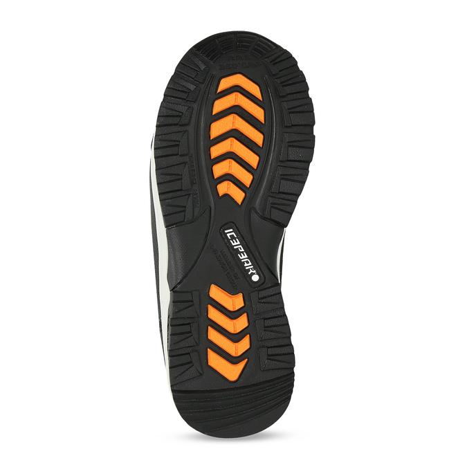 Dětská černá zimní obuv na suché zipy icepeak, černá, 399-6019 - 18