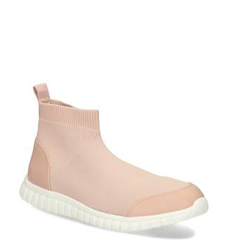 Růžová dámská kotníčková obuv bata-red-label, růžová, 599-5627 - 13