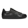 Černé dámské kožené tenisky s kamínky hogl, černá, 544-6032 - 19