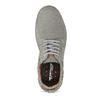 Pánské tenisky z broušené kůže šedé weinbrenner, šedá, 846-2731 - 17