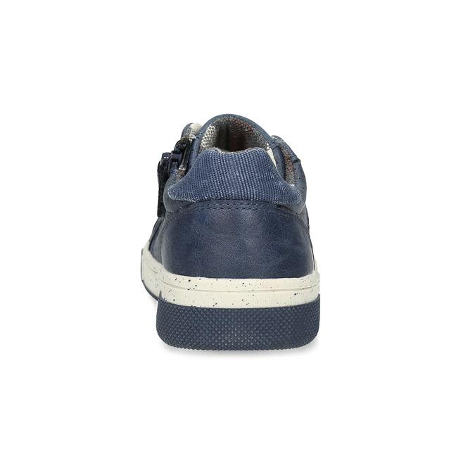 Modré dětské tenisky s perforací mini-b, modrá, 411-9702 - 15