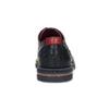 Modré kožené polobotky s červenými detaily fluchos, modrá, 826-9840 - 15