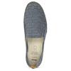 Dámská kožená Slip-on obuv s perforací comfit, modrá, 516-9614 - 17