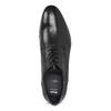 Kožené černé pánské polobotky bata, černá, 824-6881 - 17