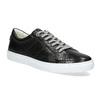 Černé kožené pánské tenisky bata, černá, 844-6649 - 13