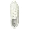Bílé dámské tenisky na vysoké flatformě bata-light, bílá, 621-1656 - 17
