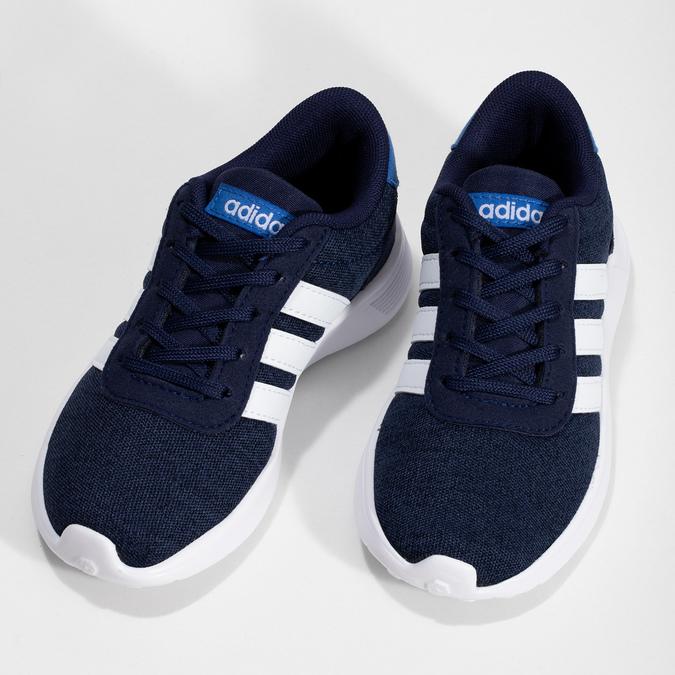 Úpletové modré tenisky chlapecké adidas, modrá, 309-9209 - 16