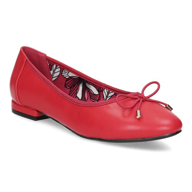94fe88844 Bata Červené baleríny s mašlí - Všechny boty | Baťa.cz