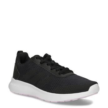 Dámské černé tenisky s bílou podešví adidas, černá, 509-6102 - 13
