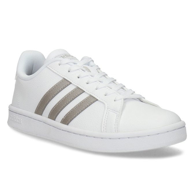 Bílé dámské ležérní tenisky adidas, bílá, 501-1249 - 13