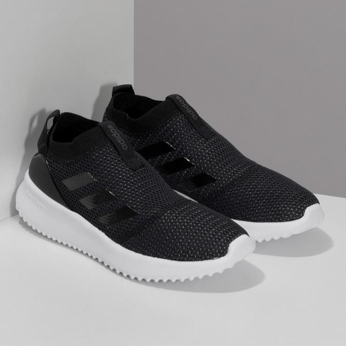 Dámské černé tenisky s výraznou podešví adidas, černá, 509-6129 - 26