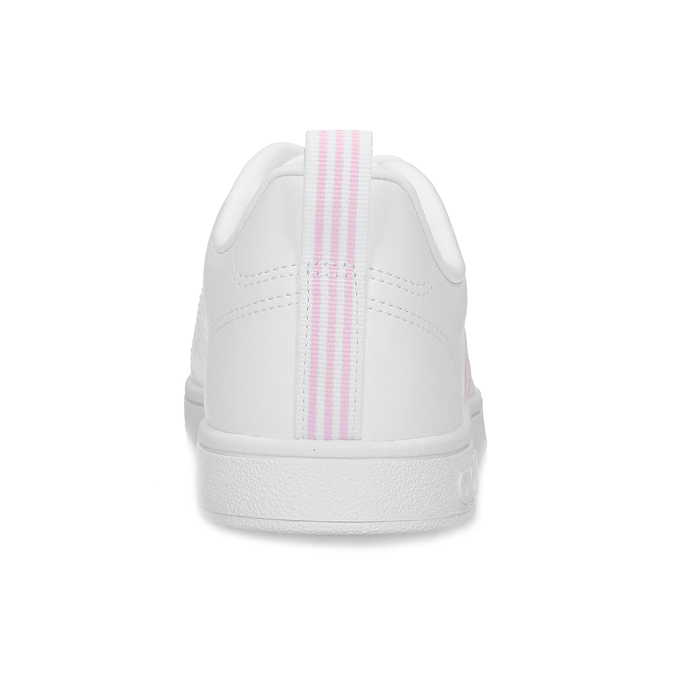 Bílé dámské tenisky s růžovými detaily adidas, bílá, 501-1139 - 15