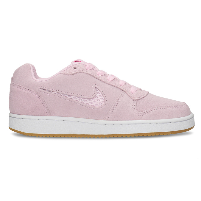 Dámské kožené růžové tenisky nike, růžová, 503-5126 - 19