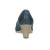 Tmavě modré dámské lodičky bata, modrá, 626-9652 - 15
