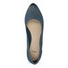 Tmavě modré dámské lodičky bata, modrá, 626-9652 - 17