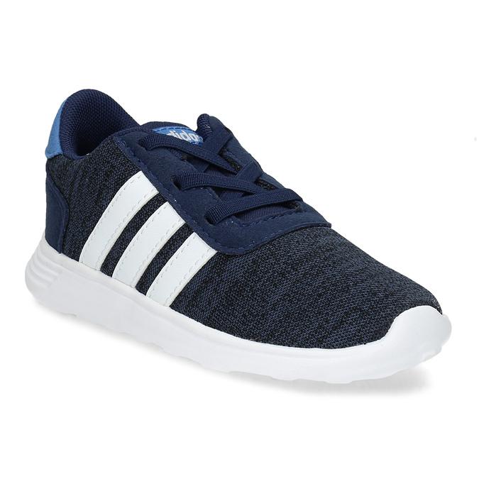 Dětské úpletové tenisky modré adidas, modrá, 109-9243 - 13