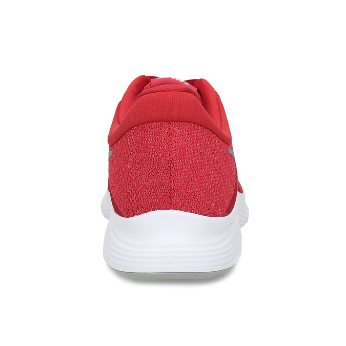 Červené pánské tenisky s bílou podešví nike, červená, 809-5100 - 15