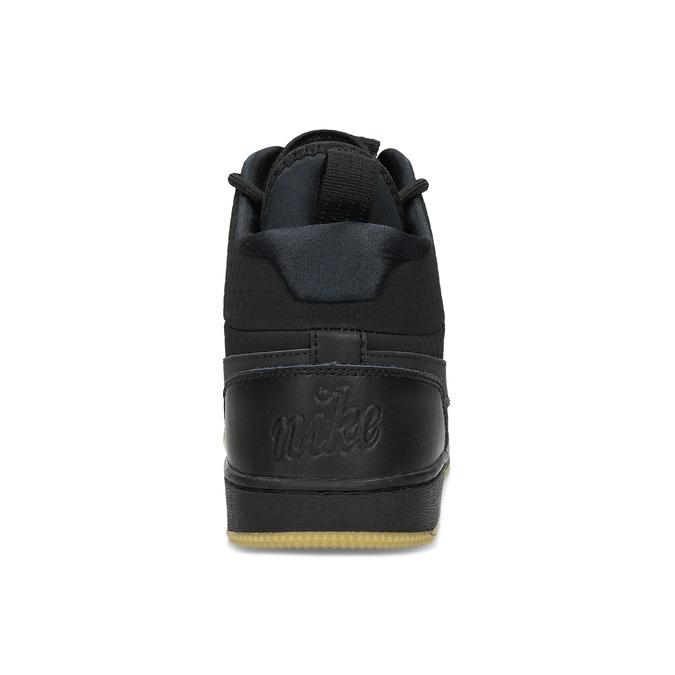 Černé pánské tenisky nike, černá, 804-6763 - 15