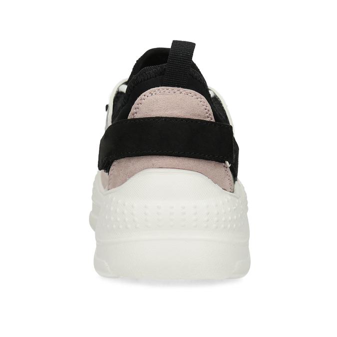 Dámské tenisky s výraznou podešví bata, vícebarevné, 549-0637 - 15