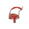 Červené lodičky do špičky bata, červená, 624-5655 - 15