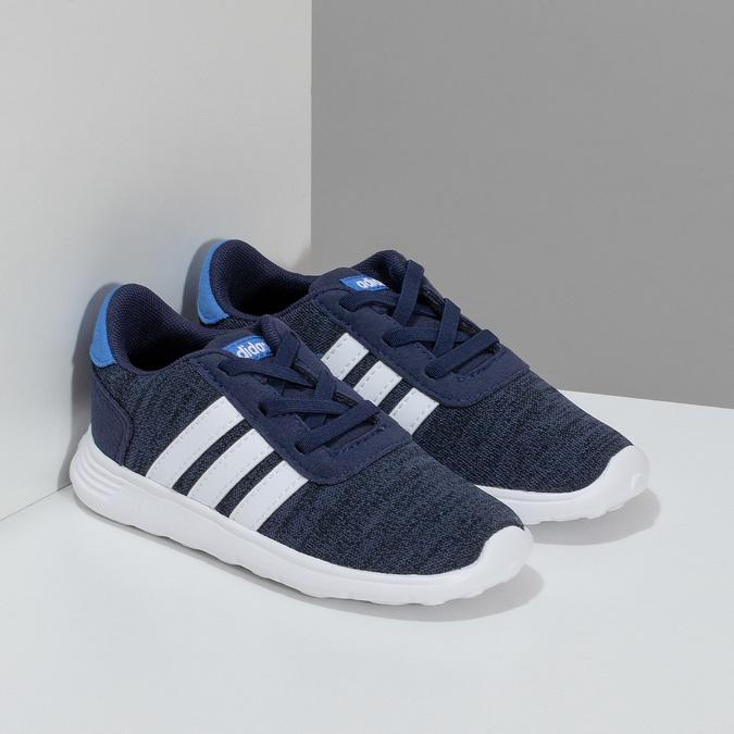 Dětské úpletové tenisky modré adidas, modrá, 109-9243 - 26