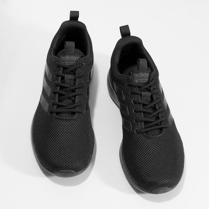 Černé pánské tenisky ve sportovním stylu adidas, černá, 809-6127 - 16