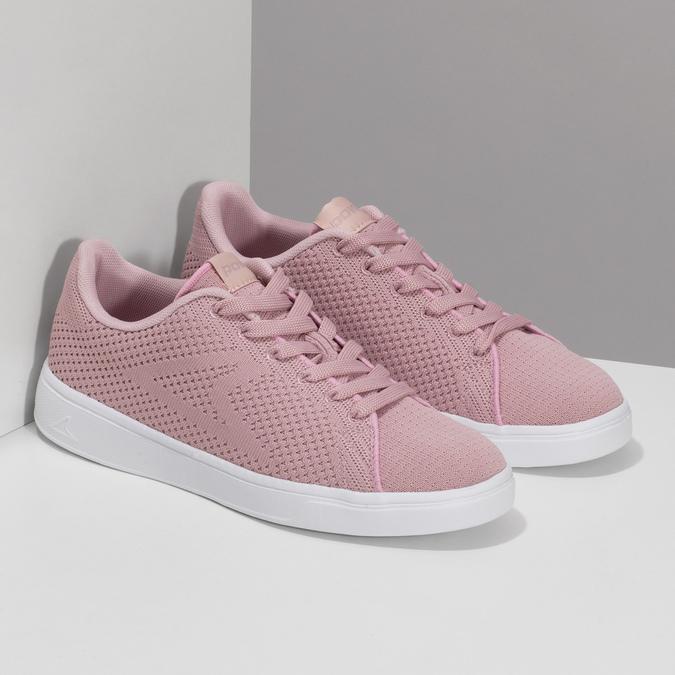 Růžové dámské ležérní tenisky power, růžová, 509-5119 - 26
