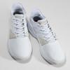 Pánské bílé tenisky s výraznou podešví adidas, bílá, 801-1223 - 16