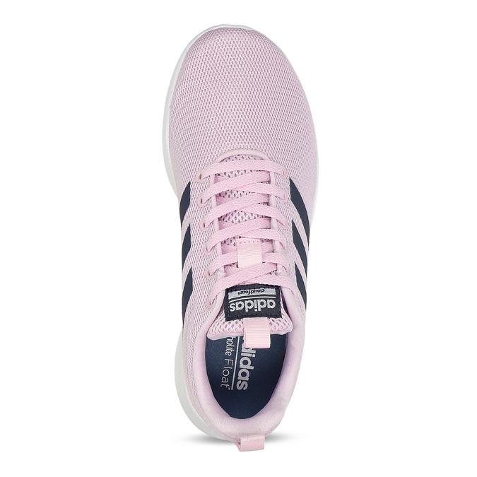 Růžové dámské tenisky s bílou podešví adidas, růžová, 509-5102 - 17