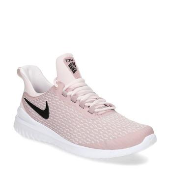 Růžové dámské tenisky s vykrojením nike, růžová, 509-5139 - 13