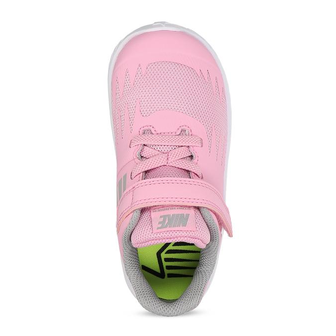 Světle růžové sportovní dětské tenisky nike, růžová, 109-5259 - 17
