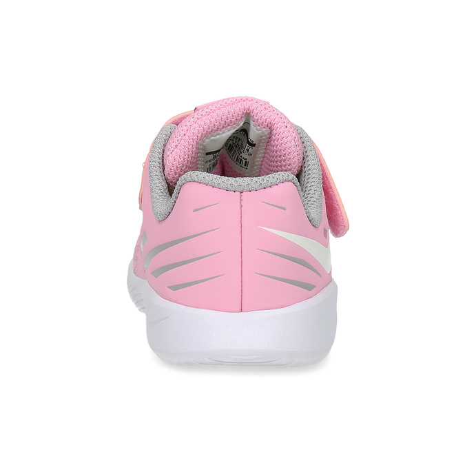 Světle růžové sportovní dětské tenisky nike, růžová, 109-5259 - 15