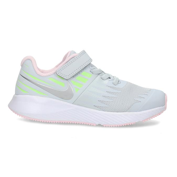 Šedo-růžové sportovní tenisky nike, šedá, 309-1211 - 19