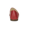 Dámské červené kožené Loafers vagabond, červená, 524-5079 - 15