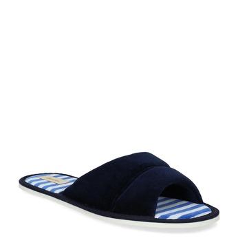 Dámská domácí obuv bata, modrá, 579-9612 - 13