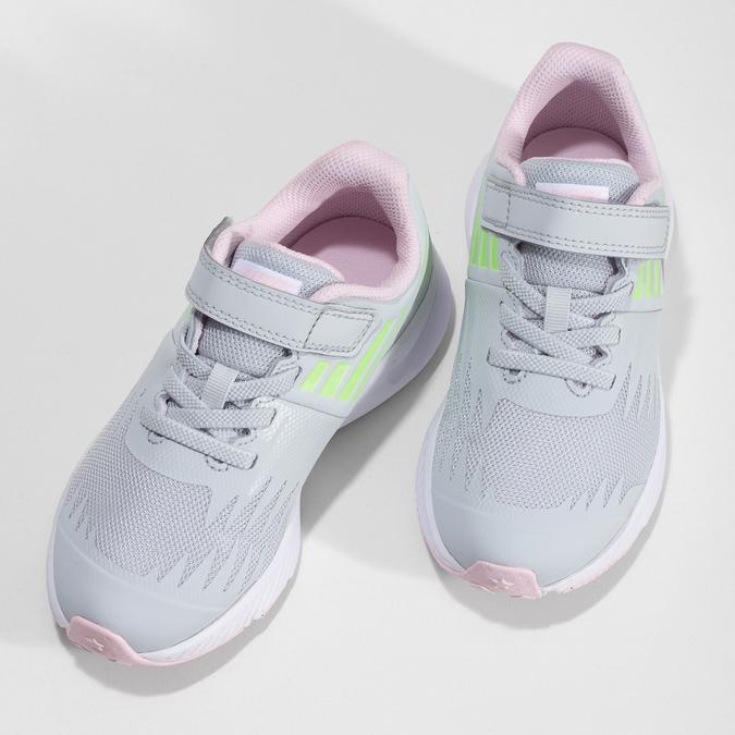 Šedo-růžové sportovní tenisky nike, šedá, 309-1211 - 16