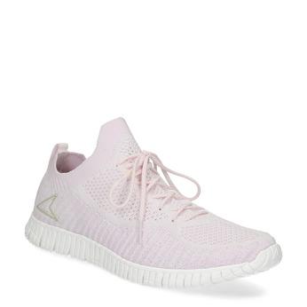 Dámské úpletové tenisky růžové power, růžová, 509-0211 - 13
