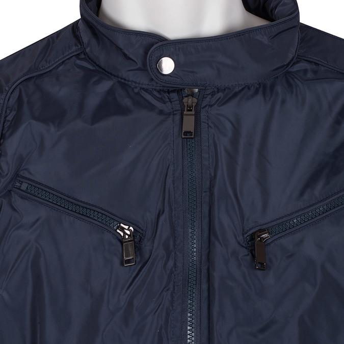 Modrá pánská bunda bata, modrá, 979-9374 - 16