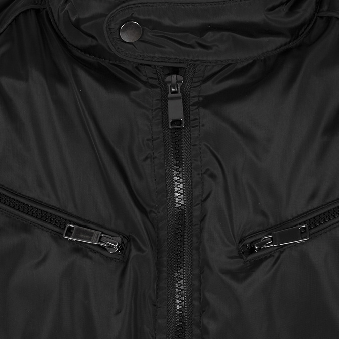 Pánská bunda se stojáčkem bata, černá, 979-6374 - 16