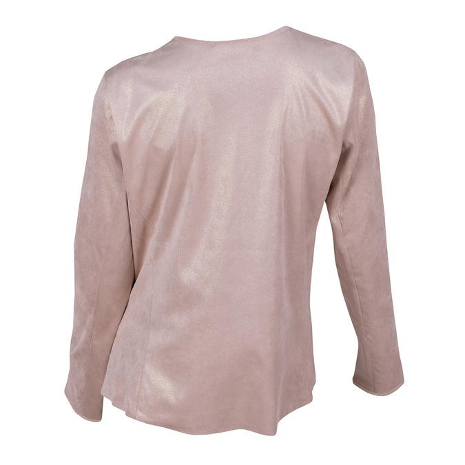 Dámský růžový kardigan bata, růžová, 979-5267 - 26