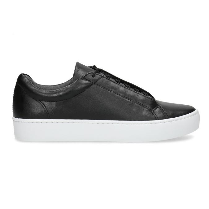 Černé kožené tenisky vagabond, černá, 624-6014 - 19