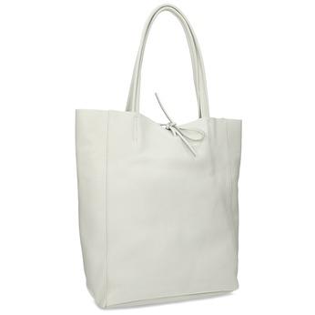 Bílá kožená kabelka bata, bílá, 964-1162 - 13