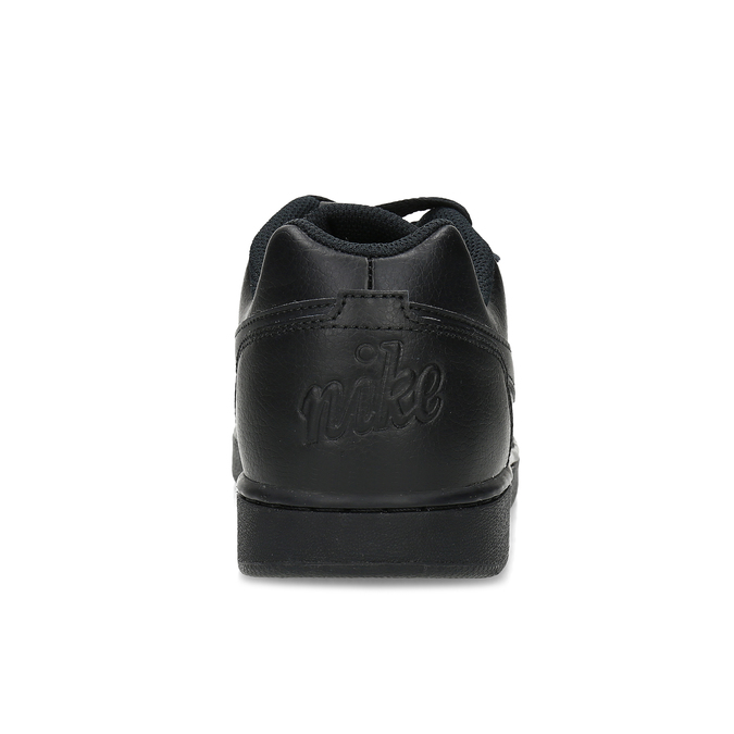 Pánské ležérní černé tenisky s prošitím nike, černá, 801-6124 - 15